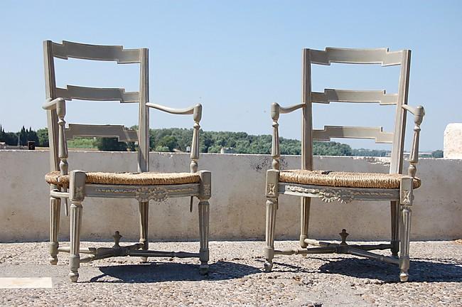 berg res louis xvi traverse noeud gris trianon rechampis blanc 63 419. Black Bedroom Furniture Sets. Home Design Ideas